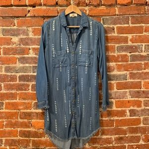 Cloth and Stone Denim Dress